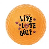 XLG003308 Metalloc Golf Ball, Live Love Golf