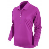 XLG003350 Tech Pique Long Sleeve Women's Golf Polo