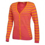 XLG003633 Ladies Golf Striped Cardigan