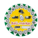 XLG004519 Smiley Ball Marker mit Clip
