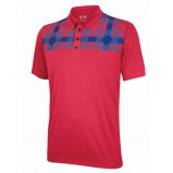 XLG004643 ClimaCool Vertical Debossed Polo